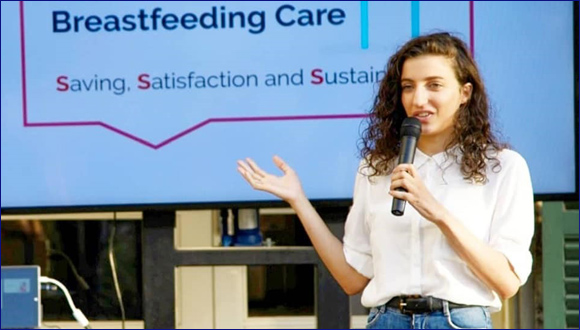 שדא אבו ראס- תלמידת החוג לריפוי בעיסוק