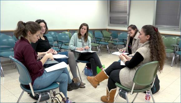 """סטודנטיות המשתתפות בקורס """"יחד"""""""